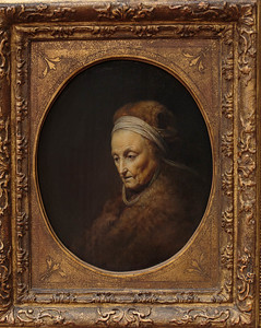 Rembrant's Mother, Gerard Dou, 1630