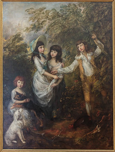 The Marsham children by Thomas Gainsborough, 1787 (Suffolk)