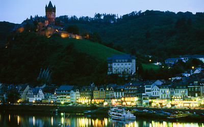Cochem Castle at Evening