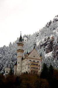 Newschwander Castle with Snow