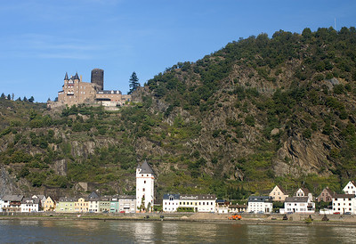 Opposite shore of St. Goar
