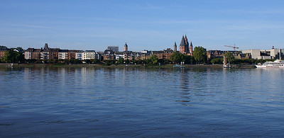Mainz and the Rhine
