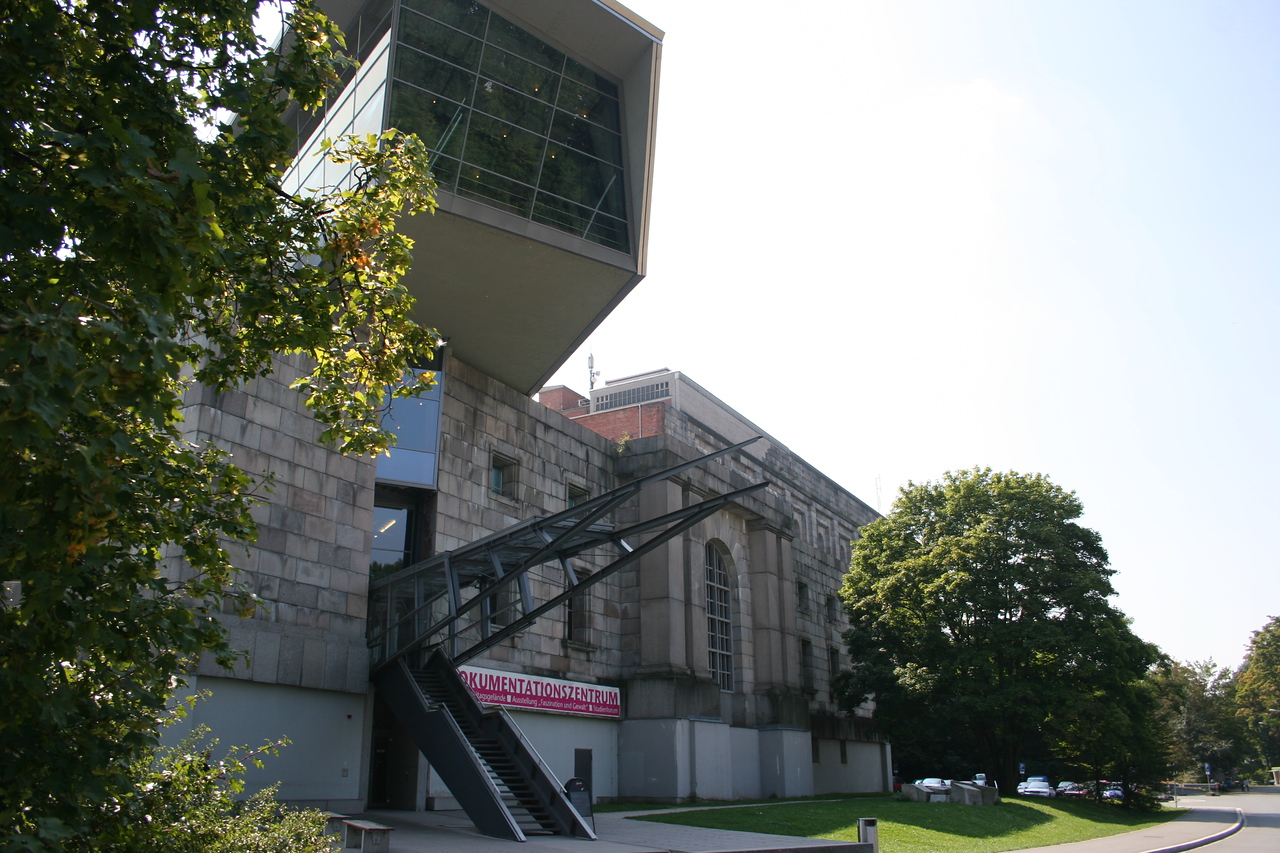 Day trip to the Nazi Documentation Museum in Nurnberg, Germany.