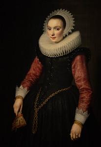 Portrait of a Woman by Michiel van Miereveld, c1620