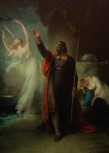 Prospero and Ariel by William Hamilton 1797