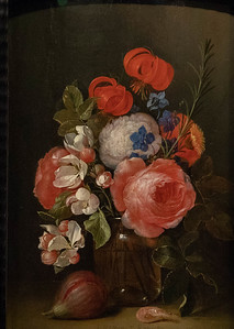 Still Life with a Vas and Flowers by Jan Davidsz. de Heem