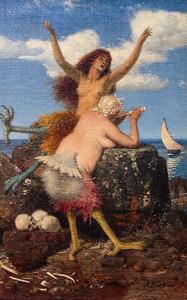 Sirens by Arnold Bocklin 1873