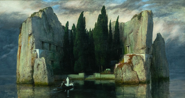 The Isle of the Dead by Arnold Bocklin 1883