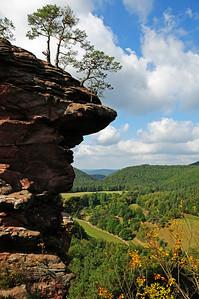 Climbing near Dahn