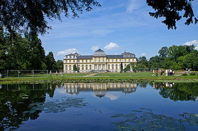 Botanical gardens with Poppelsdorfer Schloss