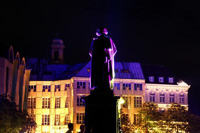 Klangwellen auf dem Münsterplatz