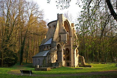 Ruin at the monastery Heisenbach