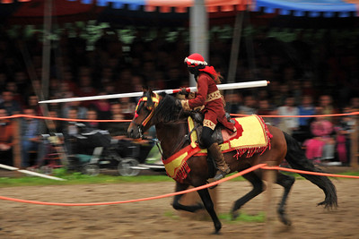 Medieval tournament at Burg Satzvey