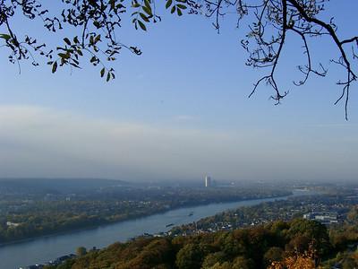 Bonn and the Rhine