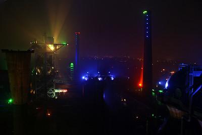 View from the Hochofen in Landschaftspark Nord, Duisburg