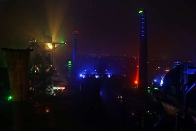 View from the Hochofen in Landschaftspark Nord, Duisburg