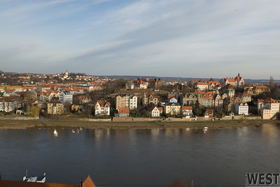 View of Meissen from the castle
