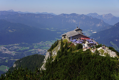 At the Kehlsteinhaus