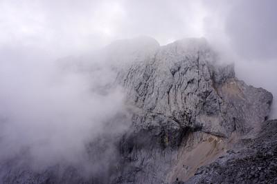 Hiking the Jubiläumsgrat from Zugspitze zu Alpspitz