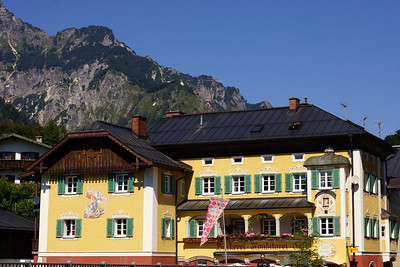 On the way up to the Kehlsteinhaus near Berchtesgarden