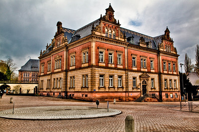 A fancy looking building in Speyer.