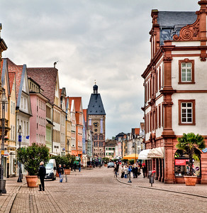 The main drag in Speyer.