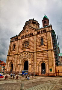 The cathedral in Speyer.
