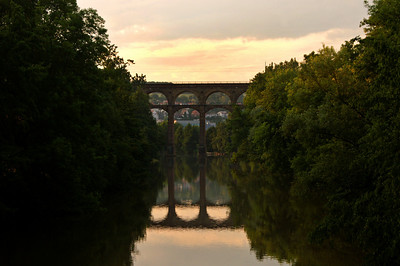The viaduct in Bietigheim