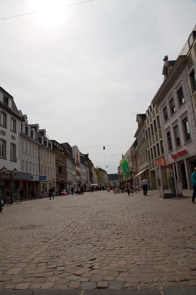 Off the square in Trier, Germany