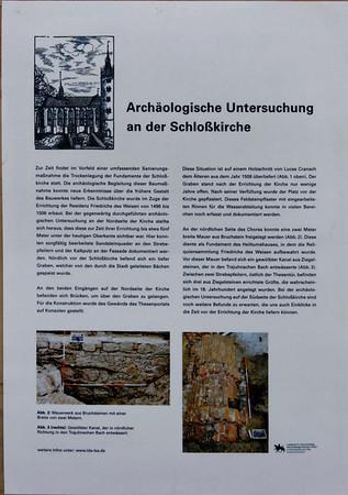 Igreja do Castelo de Wittenberg Wittenberg, Alemanha