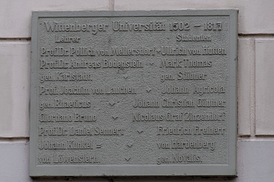 University Wittenberg, Alemanha
