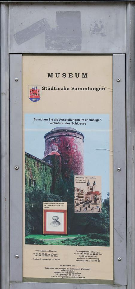 Igreja do Castelo de Wittenberg<br /> Wittenberg, Alemanha
