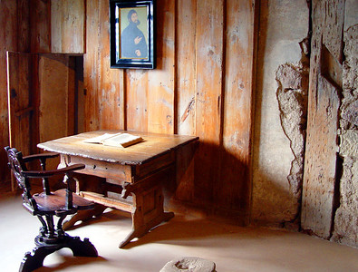 Luther's room, Wartburg Castle