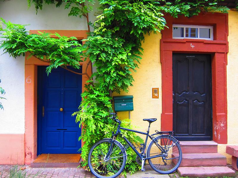 Guttenberg with Bike