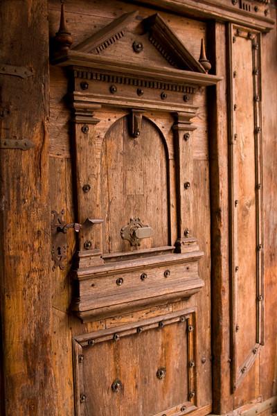 Door in Bacharach.