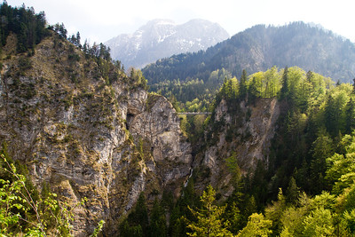 Marienbrücke and Pöllat Gorge Schwangau, Germany