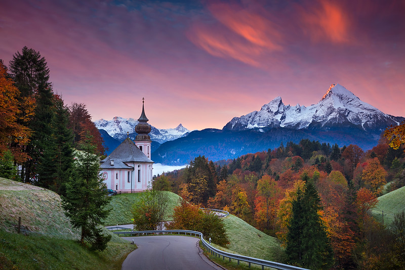 Autumn in Alps.