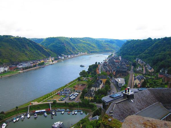 Rudesheim from Castle