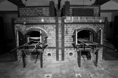 Crematorium Dachau Concentration Camp Dachau, Germany