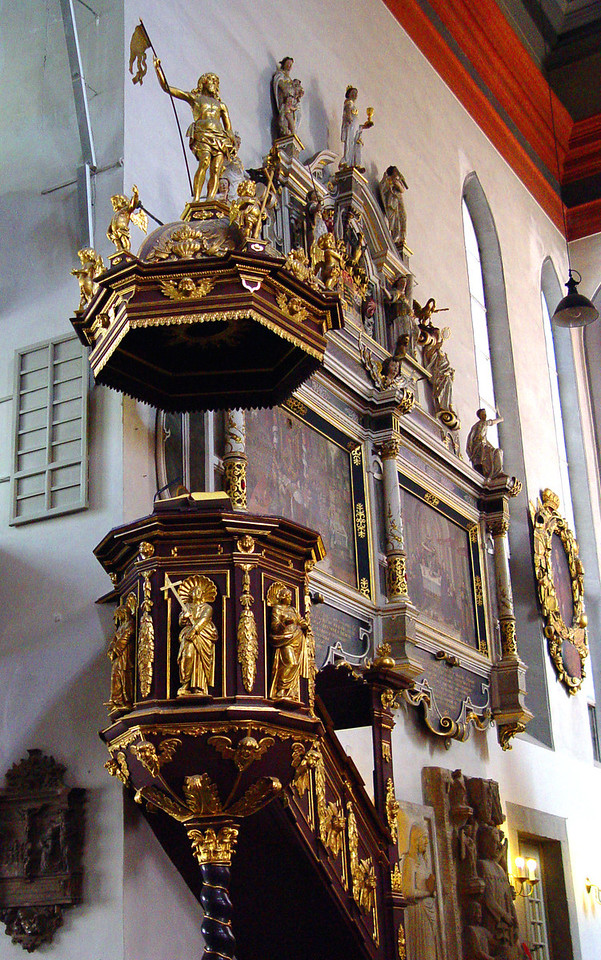 St George's pulpit, Eisenach