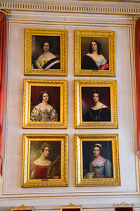 Ludwig I's Gallery of Beauties Nymphenburg Palace Munich, Germany