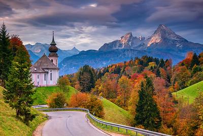 Bavarian Alps.