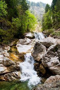 Marienbrücke Falls at Pöllat Gorge Schwangau, Germany