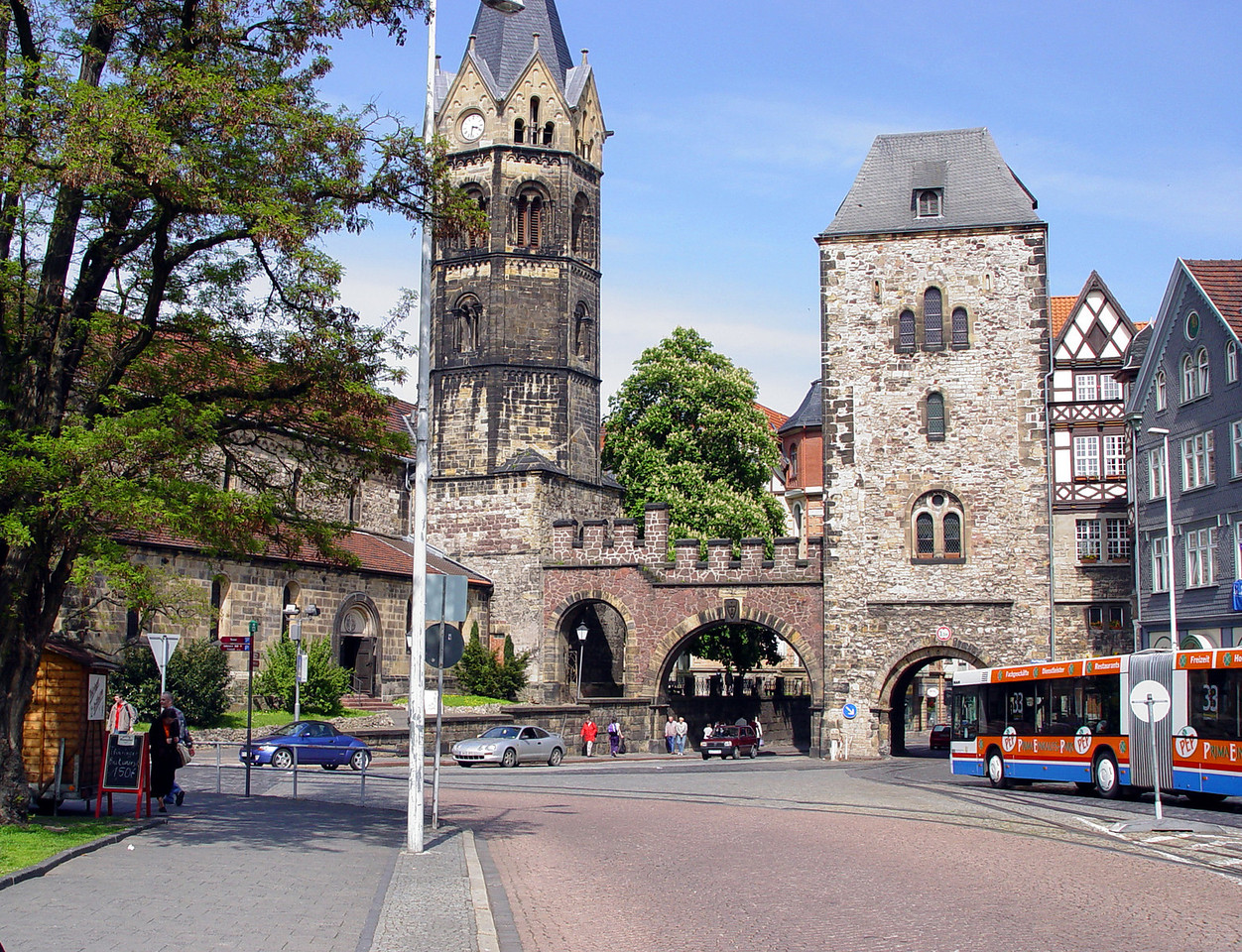 Eisenach old city gate
