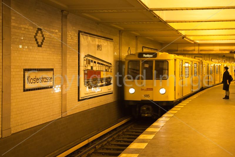 Berlin U Bahn station