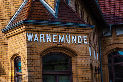 Warnemunde Train Station