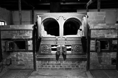Crematorium Dachau Concentration Camp Dachau, Germany