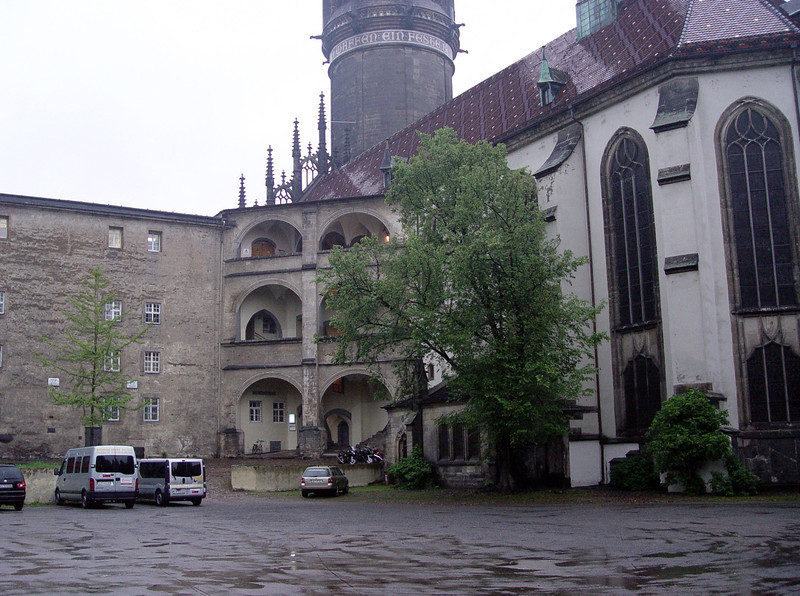 Wittenberg church (hostel)