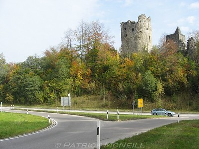 Just to show how these castles are part of daily life in that area
