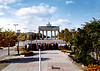 Brandenburg Gate  as viewed from East Berlin looking twards West Berlin.<br /> ©1981 Thomas Stanziale. All rights reserved. Camera: Minox GL